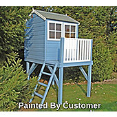 Bunny Playhouse With Platform 4x4ft plus terrace by Finewood