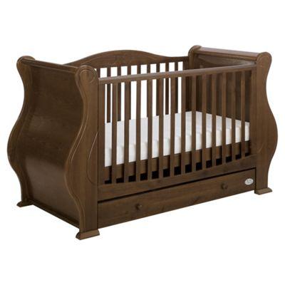 Tutti Bambini Louis Cot Bed, Walnut