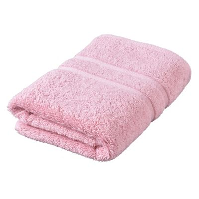 Tesco Face Cloth Towel Pink