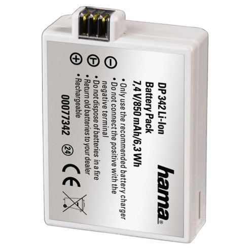 Hama DP 342 Lithium ion Battery for Canon (Equivalent to Canon LP-E5 battery)