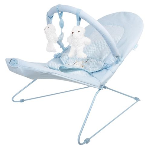 Obaby B is for Bear Vibrating Bouncer, Blue