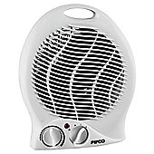 Pifco PE129 Fan Heater, 2000W - White