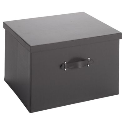 Tesco Leather Effect Collapsible Large Trunk