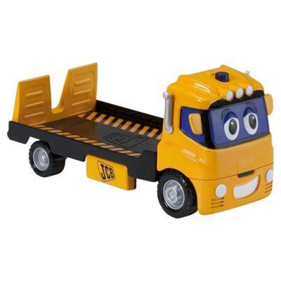 Golden Bear Toys JCB Talking Tommy Flatbed Toy Truck