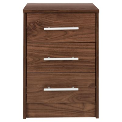 Kendal Bedside Table, Walnut Effect