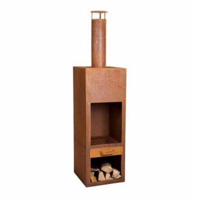 Kentucky Garden Fireplace - Rust