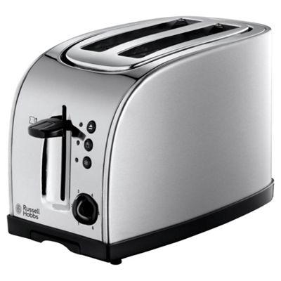 Russell Hobbs 18096  Texas 2 Slice Toaster - Stainless Steel