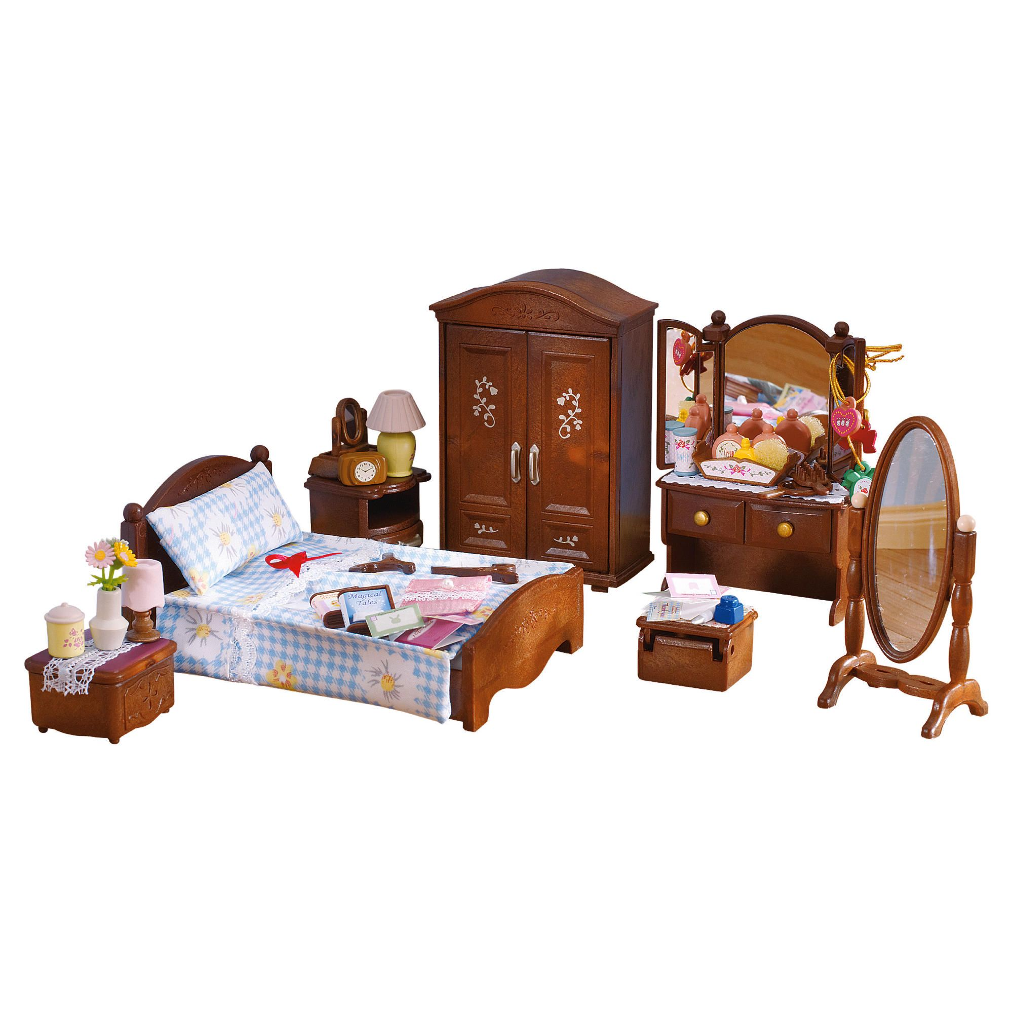 sylvanian master bedroom set myshop 17451