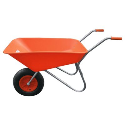 Bullbarrow Picador Plastic Wheelbarrow - Orange