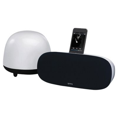 Gear4 SoundOrb Aurora PG448 - iPod/iPhone Speaker with wireless subwoofer