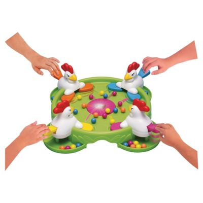 Spears Games Grab A Crab/Flip Flap Chicken Board Game - Assortment – Colours & Styles May Vary