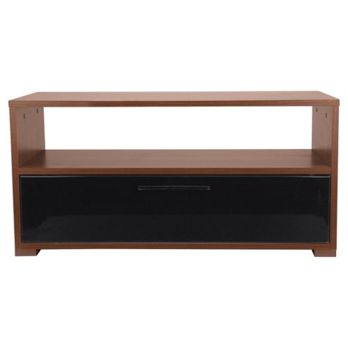 Como Coffee Table, Walnut & Black