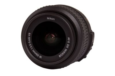Nikon Nikkor AF-S DX 18-55mm F3.5-5.6G ED II Black Lens