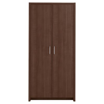 Manhattan Double Wardrobe, Walnut-effect