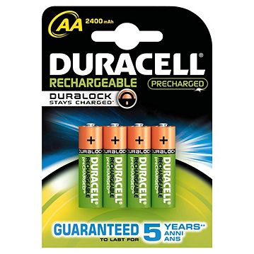 9f235862198 Duracell 4 Pack Rechargeable AA Batteries Catalogue Number: 208-6638