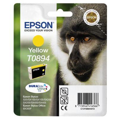 Epson T0894 Printer Ink Cartridge - Yellow