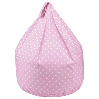 Buy Kids Cotton Polka Dot Beanbag Pink From Our Kids