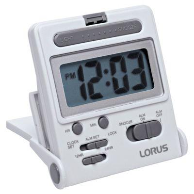 Lorus Lcd Travel Alarm Clock