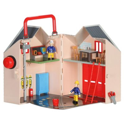 Fireman Sam Deluxe Fire Station Playset