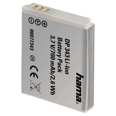 Hama DP 343 Lithium Ion Battery for Canon (Equivalent to Canon NB-6L battery)