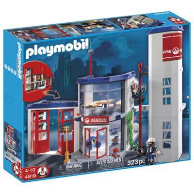 Playmobil Fire Station 4819