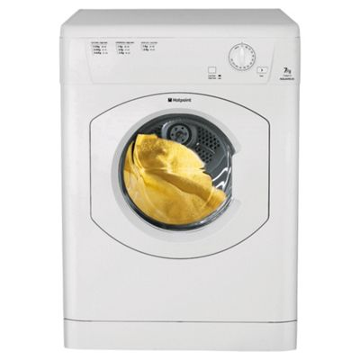 Hotpoint TVM570P White Vented TUMBLE DRYER