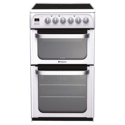 Hotpoint HUE52P White Electric Cooker