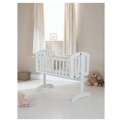 Obaby Sophie Swinging Crib, White