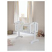 Obaby Sophie Swinging Crib, White