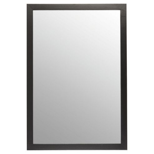 Basic Mirror - Black 84x57cm