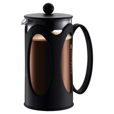 Bodum Kenya Black 8 Cup Cafetiere