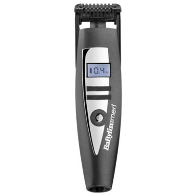 BaByliss For Men 7895U i-Stubble Beard Trimmer - Black / Silver