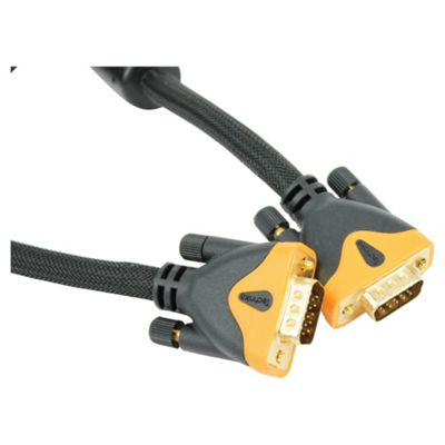 Technika VGA/SVGA High Performance Monitor Cable 3M