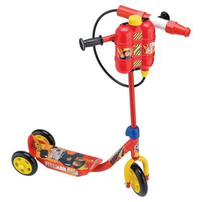 Fireman Sam Firehose Tri Scooter