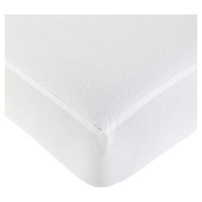 Tesco Cot Bed Terry Waterproof Fitted Sheet