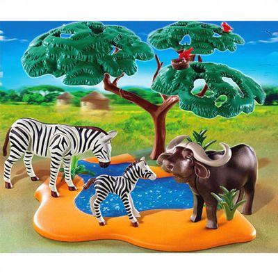 Playmobil Buffalo with Zebras
