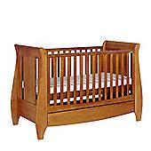 Tutti Bambini Lucas Cot Bed, Oak