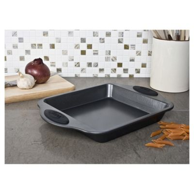 Swan 28cm Silicone Handled Square Multi Purpose Pan