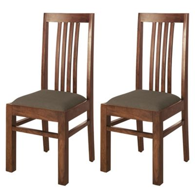 Tamarai Pair of Chairs, Sheesham