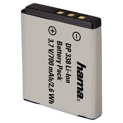 Hama DP 338 Lithium Ion Battery for Fuji, Pentax, Kodak (Fuji NP-50, Pentax D-Li68)