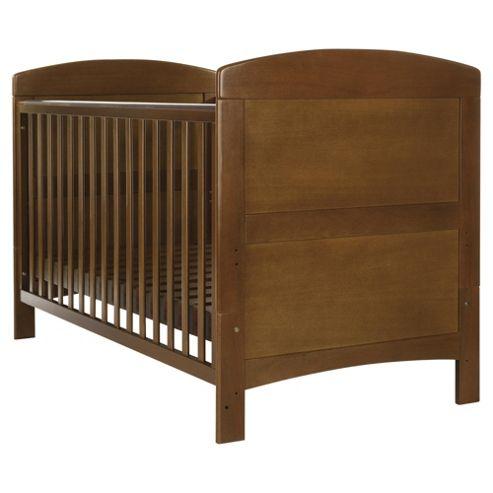 Obaby Grace Cot Bed, Walnut