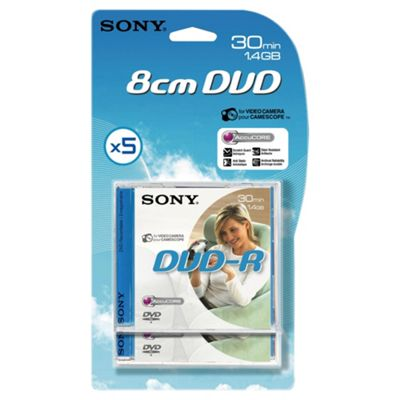 Sony DVD-R - pack of 5