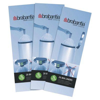 Brabantia Bin Bags 60 Pack - size 30L