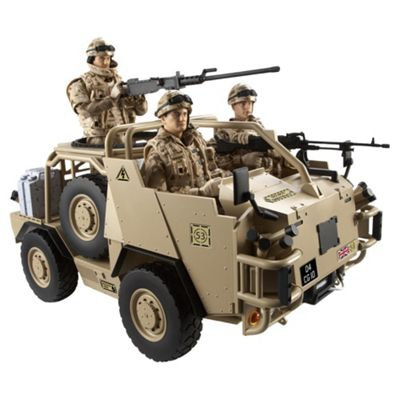 H.M Armed Forces Tri Forces Jackal Vehicle