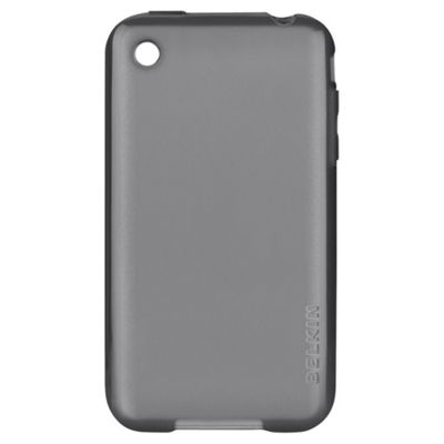 Belkin Grip Vue TPU Clear case for iPhone 3GS Gray