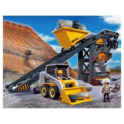 Playmobil Construction 4041 Conveyor Belt with Mini Excavator
