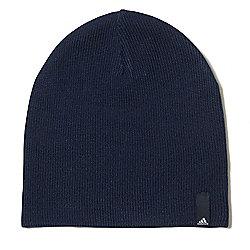adidas Performance Mens Kids Knitted Beanie Hat Navy Blue - Child 94983df3dbf