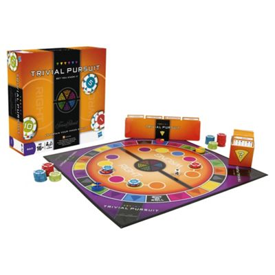 Trivial Pursuit Bet You Know It Board Game