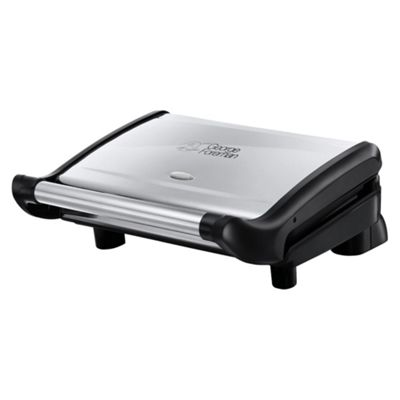 George Foreman Stainless Steel Heritage 5 portion Grill