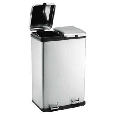 60L duo recycling bin